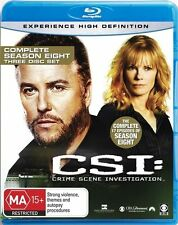 Csi Season 8 NEW B Region Blu Ray