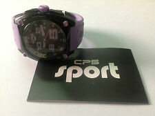 Nuevo - Reloj Watch CP5 Carles Puyol - Aluminium - Black Purple - Size L - New