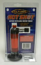MICRO TORCHES BLAZER TORCH BUTANE TORCH HOT SHOT REFILLABLE SELF IGNITING