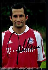 super AK Foto H. Salihamidzic Bayern München 2003-04(1) Orig. Signiert