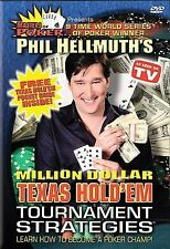 MASTERS OF POKER - PHIL HELLMUTH'S MILLION DOLLAR TEXAS HOLD'EM TOURNAMENT STRAT