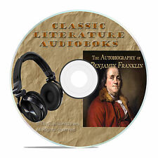 THE AUTOBIOGRAPHY OF BENJAMIN FRANKLIN CLASSIC AUDIOBOOK LITERATURE MP3 CD-A60
