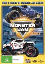 Monster Jam The Series Volume 1 (2 Discs) Over 5 Hours DVD R4 New! *