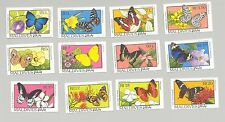 Maldives #1893-1907 Butterflies, Flowers 12v & 3v S/S Imperf Proofs