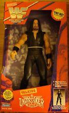 "1997 Playmates WWF WWE 14"" THE UNDERTAKER Talking Wrestling Figure"