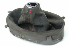 2005-2013 Corvette C6 Centennial Suede Shift Boot w/ Red Stitching New GM