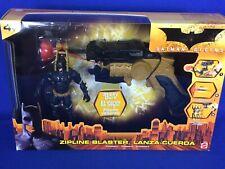 2005 Batman Begins Zipline Blaster Set with Batman Action Figure New Sealed