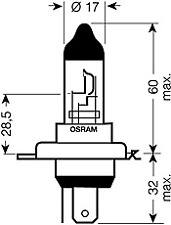 Ampoule Phares OSRAM NIGHT BREAKER ® Unlimited-OSRAM 64193nbu-01b
