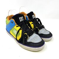 DC Skate Shoes Colourblock Trainers UK 3 US 4 EU 36 Youth Radar Lace Up Sneakers