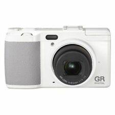 Near Mint! Ricoh GR DIGITAL IV 10 MP Digital Camera White - 1 year warranty