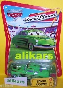 EDWIN KRANKS #72 Race O Rama Collection ROR series Disney Pixar Mattel Cars new