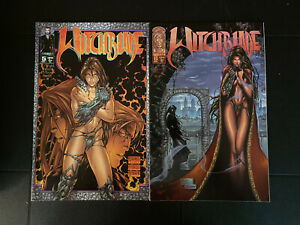 Witchblade #5 & 6 Image Comics 1996 NM Michael Turner Covers & Interior Art