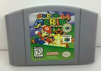 Super Mario 64 (Nintendo 64, 1996) Authentic Cleaned And Tested N64