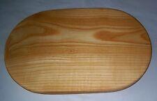Handmade Ash Wood Solid Oval Cutting Board