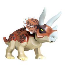 Triceratop Jurassic Park World Dinosaur Building Block Mini figure Toy Lego Fit
