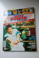 SUPER POWER  N° 6 MAGAZINE FEVRIER 1993 NINTENDO SEGA CONSOLE ZELDA 3 PLAN