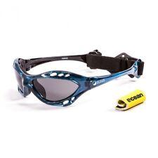 Ocean Sunglasses Cumbuco polarized Blue frames w/smoke lens New