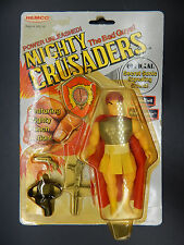 MOC vintage Mighty Crusaders BRAIN EMPEROR Remco Archie comics action figure 80s