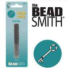 Metal stamp, punch by Beadsmith, Key, 6mm