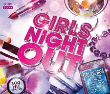 Girls Night Out 5-CD NEW SEALED Gloria Gaynor/Supremes/Lionel Richie/Lulu/Nelly