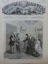 1875 UI SISSI IMPERATRICE AUTRICHE MARECHAL PRESIDENT MAC MAHON