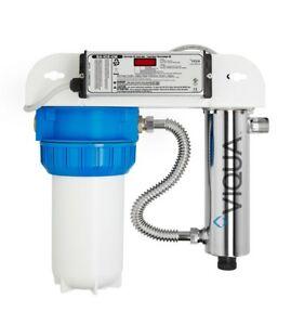 Viqua VH200-F10 Bundle: Integrated Whole House UV + PLUS Extra Replacement Lamp