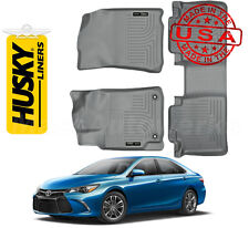 Husky Weatherbeater Floor Liners 2012-2017 Camry Front/Rear Row - Gray