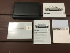 2008 Volvo S80 Owners Manual With Case OEM Free Shipping