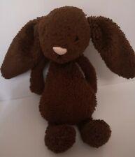 * JellyCat Pequeño Marrón Chocolate despego Bunny Rabbit 8' retirado suave edredón