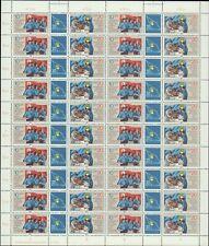 DDR Nr. 2609/10 postfrisch im Zusammendruckbogen, Bogen, DV, Zdr-Bogen