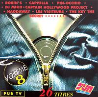 Compilation CD Génération Dance Vol. 8 - France (EX+/EX+)
