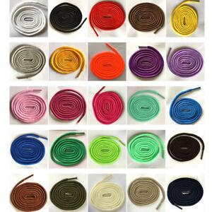 200cm Lange Stiefel Schnürsenkel Runde senkel Schuhbänder Rundesenkel 4-5mm NEU