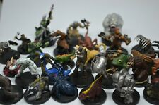 Dungeons and Dragons Miniatures*10 Random  Lot Pathfinder Minis D&D Bulk
