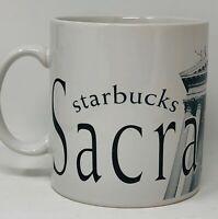 Starbucks 1994 Sacramento City Collector Series Coffee Mug Cup