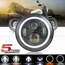 Krator 2pcs Black Heavy Duty Motorcycle Turn Signals Finned Grill Scalloped Blinkers For Yamaha V-Star Vstar 950 1100 1300 Classic Stryker