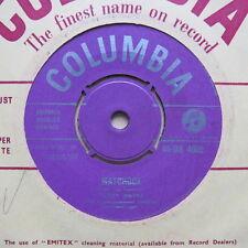 "TERRY WAYNE Matchbox / Your True Love UK 7"" Columbia DB 4002 1957 Ex"
