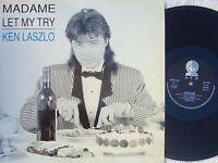 Ken Laszlo ORIG ITA PS 12 Madame EX '89 MEM MEMIX087 Italo Disco Electronica