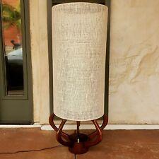 Mid Century Atomic Modern Lighting Tall Table Lamp.
