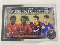 2020-21 Topps Museum Collection UEFA Champions League Soccer Box ➡FREE FAST SHIP