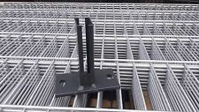 Bodenplatte, Fußplatte, Adapter, Dübelplatte Pfosten 40x60 Sockel Zaun anthrazit