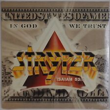 STRYPER: In God We Trust XIAN HEAVY METAL '88 Enigma SEALED Vinyl LP Rare OOP