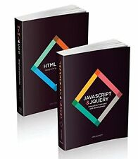 Web Design with HTML, CSS, JavaScript and jQuery Set New Paperback Book Jon Duck