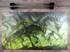 2019 MTG War of the Spark Pre Release Playmat Magic The Gathering Mat Free Tube