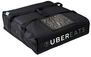 Uber Eats pizza delivery bag, Pizza Carrier, foam padded interior