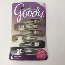 Goody 6 Snap Clips 76613 Matches Hair Color