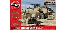 AIRFIX A03702 BRITISH FORCES VEHICLE CREW 1:48 Plastic Kit Makes 8 Soldiers