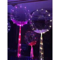 LED Fairy Light Transparent Balloon Wedding Birthday Xmas Party Lights Decors