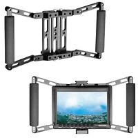 Neewer Director's Monitor Cage for 4 inch/5 inch/7 inch Camera Field Monitor
