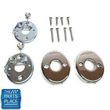 1968-69 GM Cars Chrome Headrest Locks - Pair