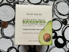 Glow Recipe AVOCADO MELT Retinol Eye Sleeping Mask * Full Size .5 oz * NIB